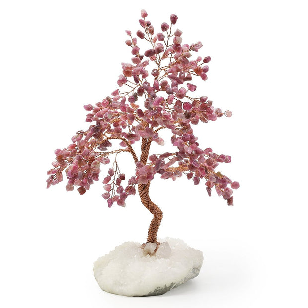 Spiritual Lullaby Feng Shui  Red Tourmaline Tree - Karma and Luck | Buy Online