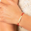 Enlightened Soul - Lotus Multi Symbol Red String Bundle