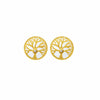 Endless Flourish Tree of Life Stud Earrings
