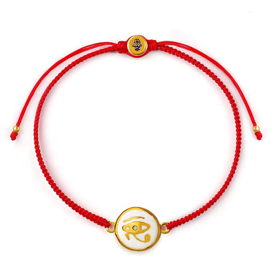 Divine Healing Red String Eye of Horus Bracelet