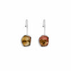 Spiritual Contemplation - Silver Tourmaline Earrings