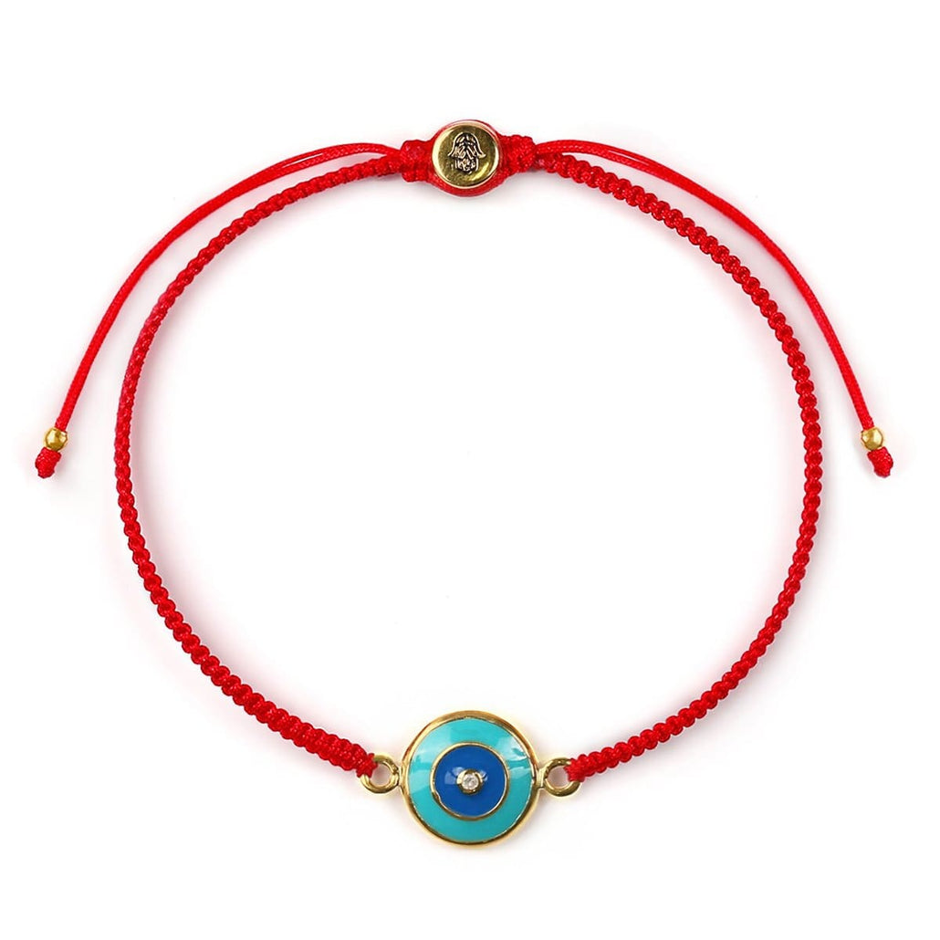 Deflective Energy Red String Bracelet