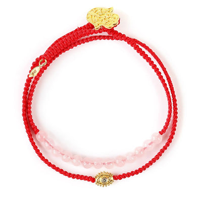 United in Love Red Wrap-Karma e Luck | Comprar Online