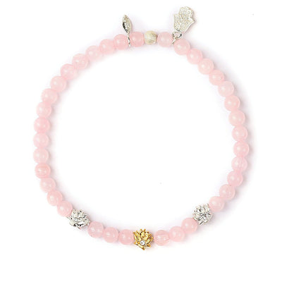 Power of Love Lutos Charm Bracelet - Karma e Sorte | Compre online