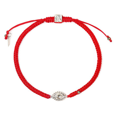 Karma and luck - Precious Quietude Red String Evil Eye Charm Bracelet