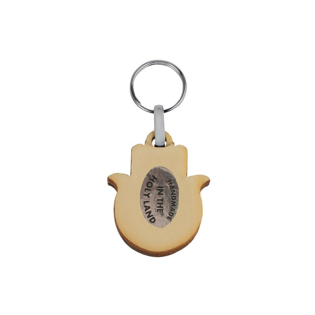 Uplifting Joy - Hamsa Happiness Citrine Keychain