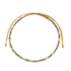 Vibrate Higher - Pyrite Stone Gold Plated Anklet