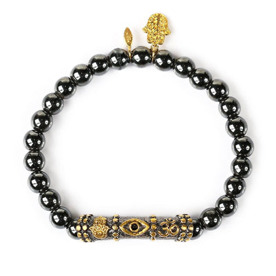 Thought Stabilizer Triple Protection Bracelet - Karma and Luck | Buy Online