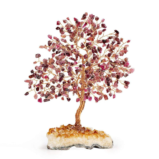 Wise Counsel Feng Shui Tree on Citrine Base