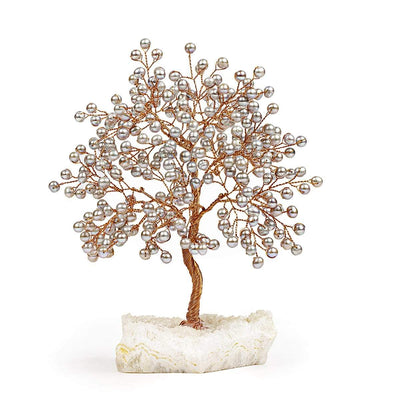 Subtle Divinity - Feng Shui Grey Pearl Medium Size Tree