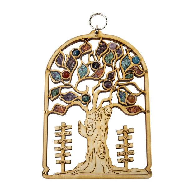 Grow With Intention Tree of Life Symbol Wall Blessing - Karma and Luck | Buy Online