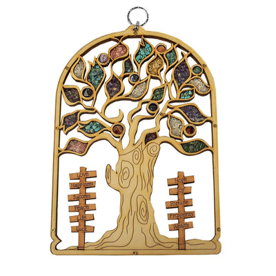 Prosperity Enhancer Tree of Life Plaque Wall Blessing - Karma and Luck | Buy Online
