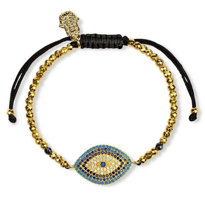 Pulseira Walk with Integrity Hematite Gold Tone