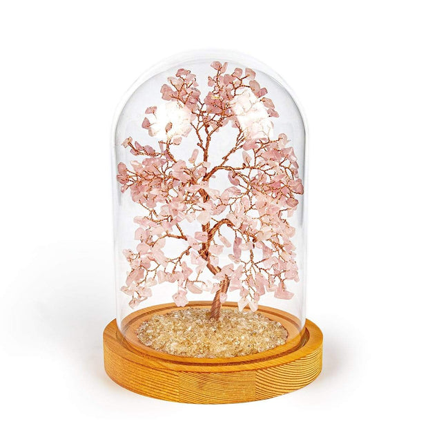 Compassion Rose Quartz Feng Shui Tree