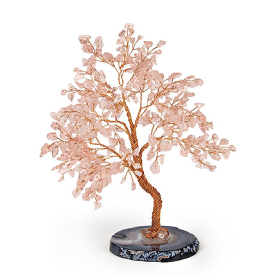 Love Harmony Feng Shui Rose Quartz Tree