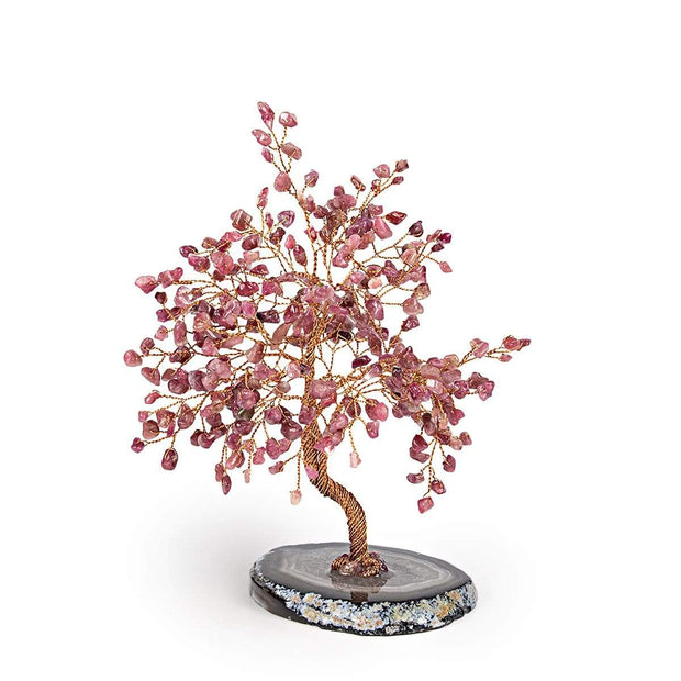 Lavish Blessings Red Tourmaline Feng Shui Tree