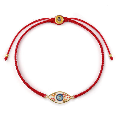 Karma and Luck - Enchanted Beginnings - Red String Evil Eye Bracelet