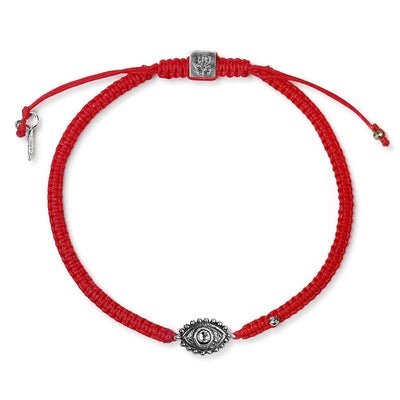 karma and luck - Shielded by Spirit - Red String Evil Eye Charm Bracelet