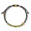 Enlightened Approach - Jade Buddha Hematite Luck Bracelet