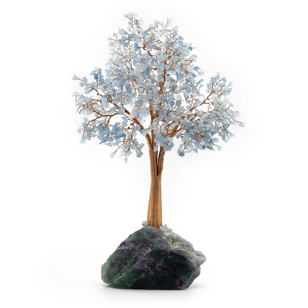 Tranquil Journey Feng Shui Flourite Stone Tree - Karma and Luck | Buy Online