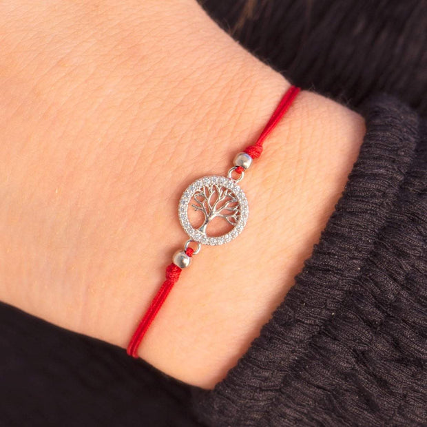 Personal Growth Red String Bracelet - Karma and Luck | Buy Online