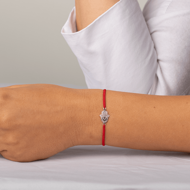 Peace of Mind Red String Tree of Life Bracelet