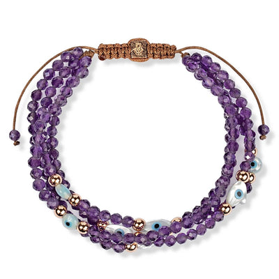 karma and luck - Intuition Amplifier - Amethyst Stone Bracelet - buy now