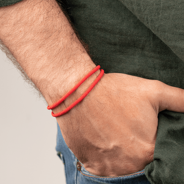 Positive Protection Men's Wrap Bracelet