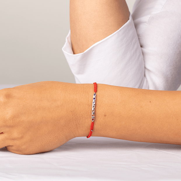 Shift Into Alignment Red String Chakra Stone Bracelet