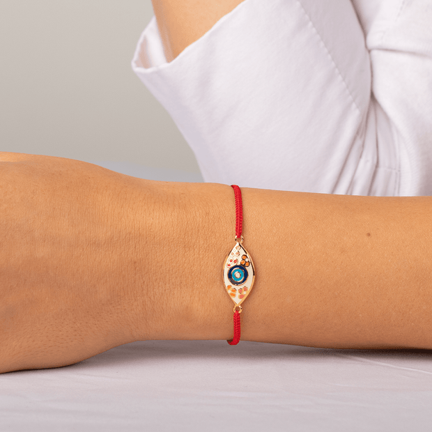 Enchanted Beginnings Red String Evil Eye Bracelet