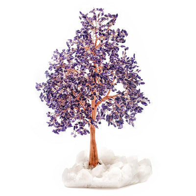 Peace of Spirit Feng Shui Amethyst Tree | Karma and Luck