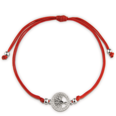 Personal Growth Red String Tree Of Life Bracelet - Karma and Luck | Buy Online