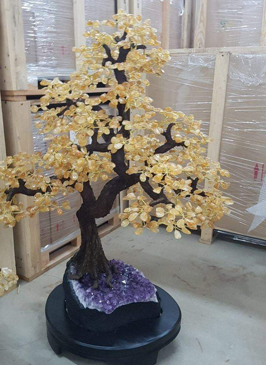 Giant Citrine Brazilian Tree - Karma and Luck | Buy Online
