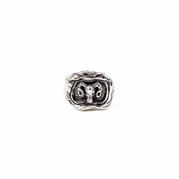 """The Warrior""- Aries Zodiac Ring"