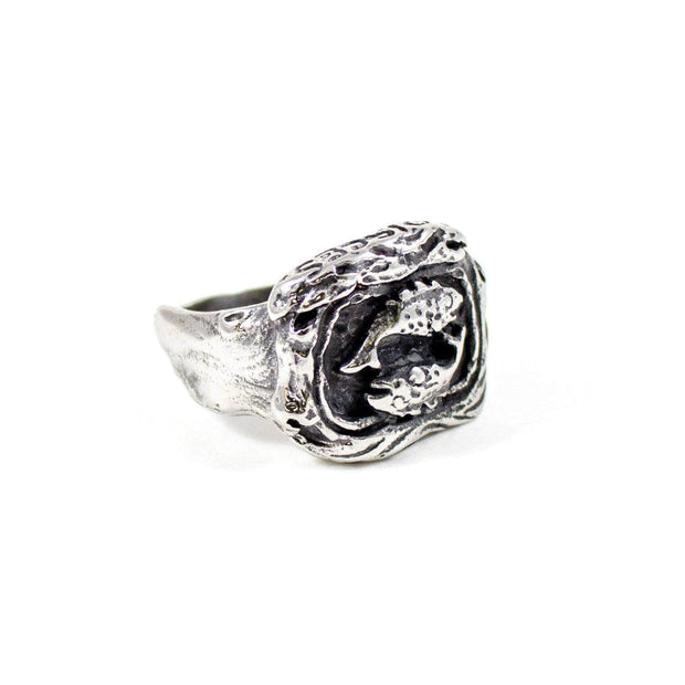 Zodiac Pisces Ring - Karma and Luck | Buy Online