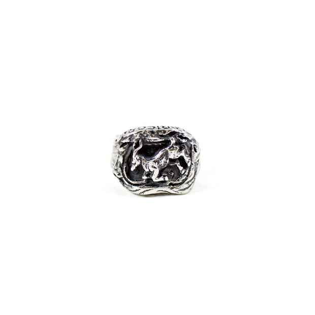 """The Controller"" - Capricorn Zodiac Ring"