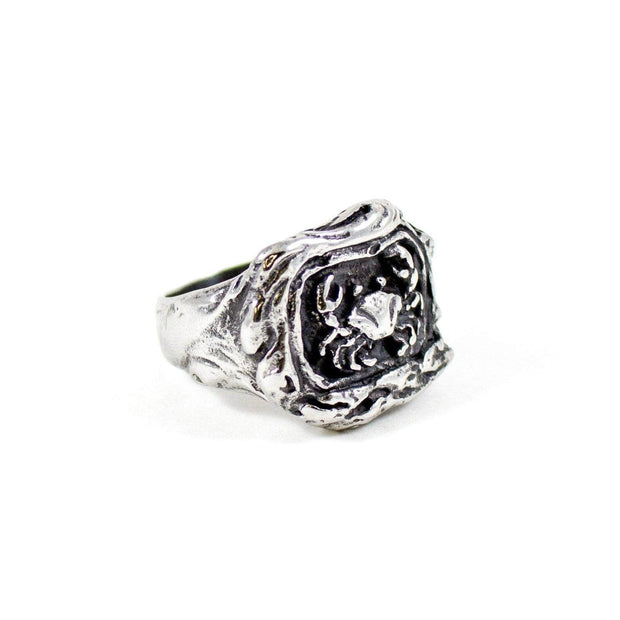 Zodiac Cancer Ring - Karma and Luck | Buy Online