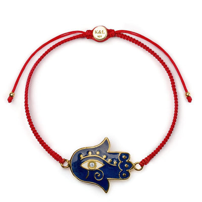 Healing Strength Eye of Horus Red String Bracelet - Karma and Luck | Buy Online