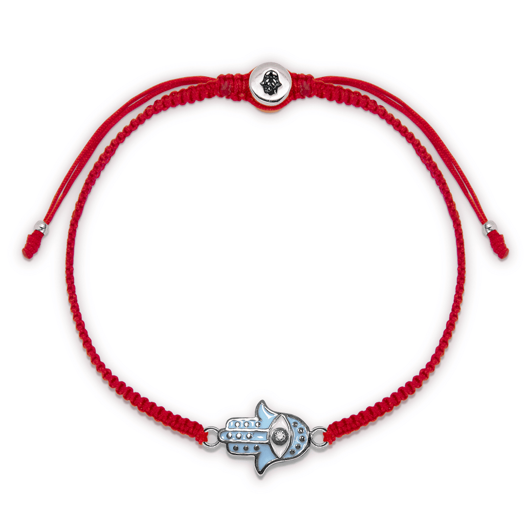 Equilibrium State Red String Bracelet