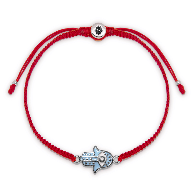 Equilibirium State Red String Turquoise Bracelet - Karma and Luck | Buy Online