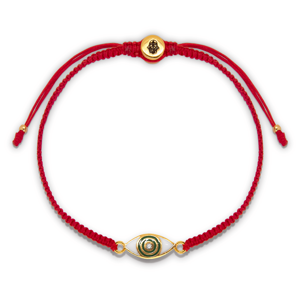 Cleanse Away Evil Red String Bracelet