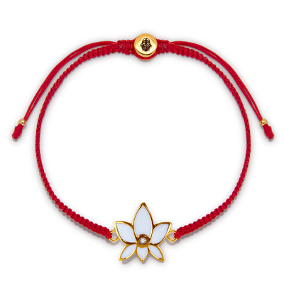 Obstacle Crusher Red String Bracelet