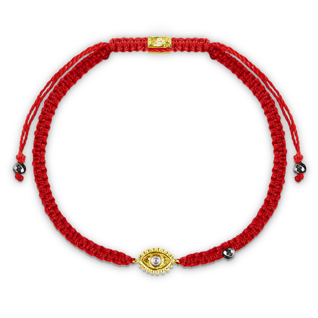 Protection Amulet Red Macrame Bracelet - Karma and Luck | Buy Online