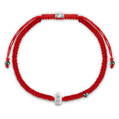 Peace and Longevity Red String Buddha Charm Bracelet - Karma e Sorte | Compre online