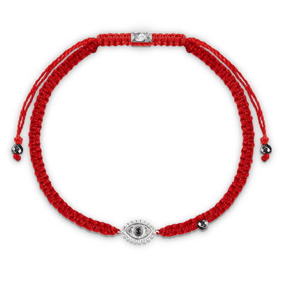 Beat Anxiety Red String Amethyst Stone Bracelet - Karma and Luck | Buy Online