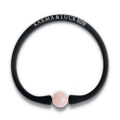 Spirit Purifier Black Ion Pearl Stone Bracelet - Karma and Luck | Buy Online