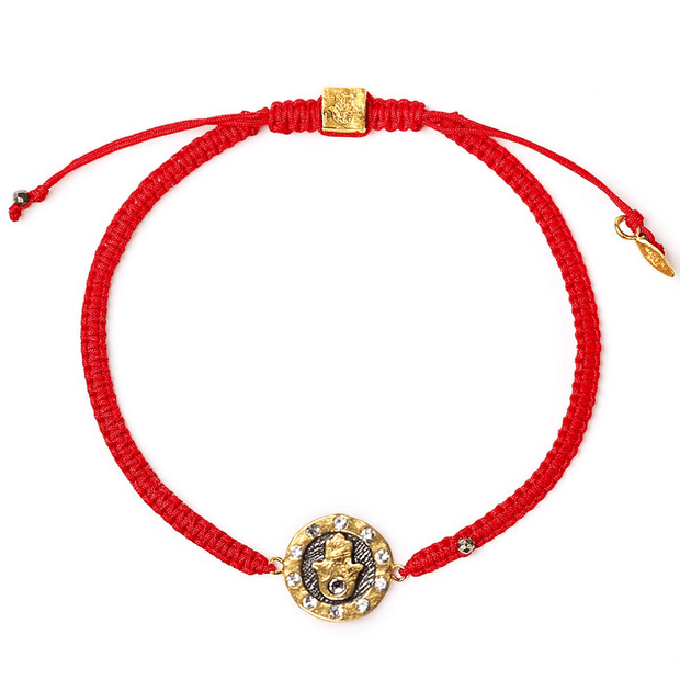 Guiding Hand Red String Bracelet