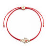 Expression of Love Red Macrame Bracelet