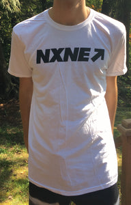 NXNE cotton T featuring Port Lands 2017 lineup on back