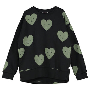 [BEAU LOVES] Relaxed Fit Sweater - Black